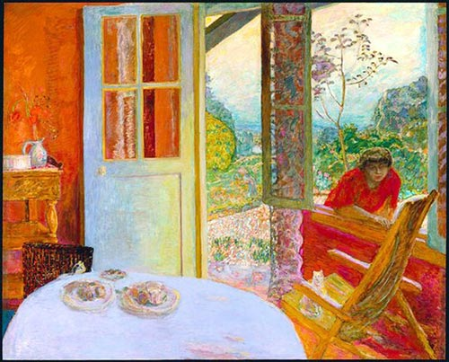 pierre bonnard, dining room in the country | french culture